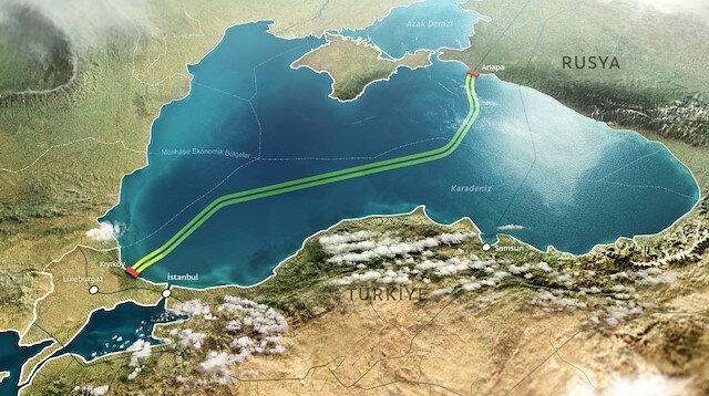 Dev projede tarihi gün: TürkAkım doğal gaz hattı açıldı