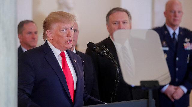 ABD Başkanı Trump: Biz barış isteyen herkesle çalışmaya hazırız