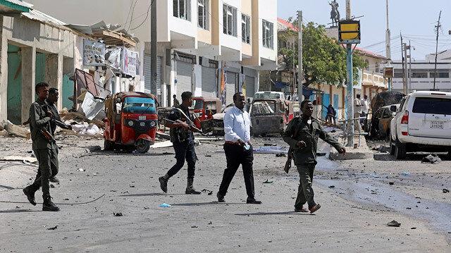 Somali'de meclis binası yakınında bombalı saldırı gerçekleşti