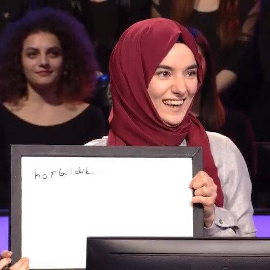 Konuşma engelli Gülsüm Kim Milyoner Olmak İster yarışmasına damga vurdu