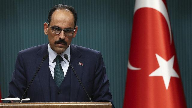 İbrahim Kalın'dan 'ateşkes' değerlendirmesi: Türkiye'nin izlediği barış diplomasisinin somut neticeleridir
