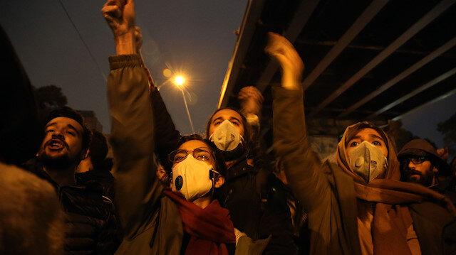 İran'da büyük öfke: Hameney'e ölüm sloganları atıldı