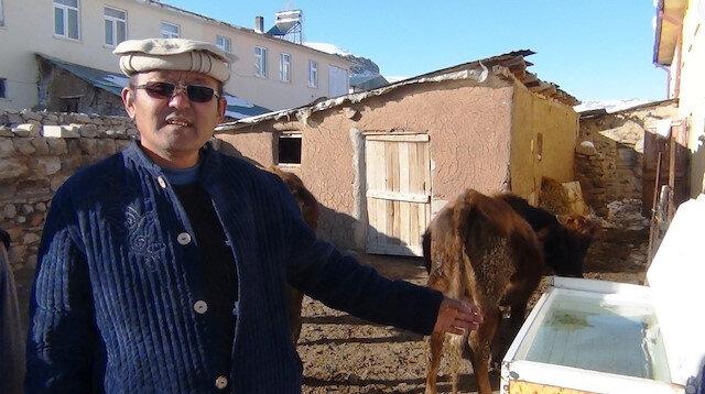 Hayvanları için buzdolabını ısıtma kutusu yaptı: Suyun hem temiz kalmasını, hem de donmasını önledi