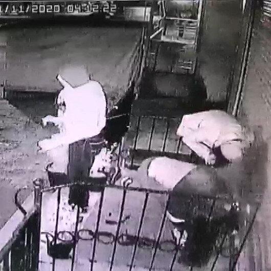Hırsızlık yaparken halay çekti