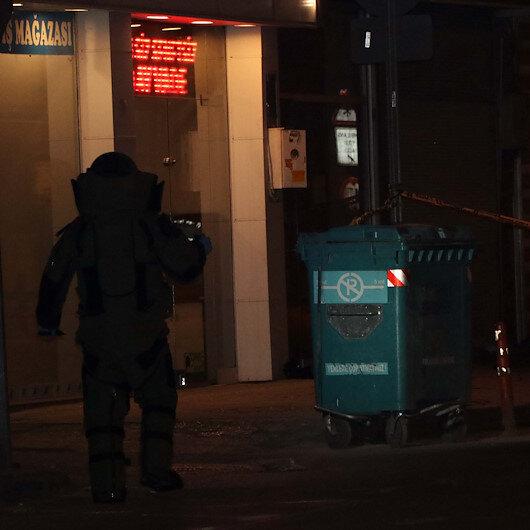Gaziantepte şüpheli paket fünye ile patlatıldı