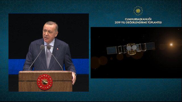 ''İlk yerli haberleşme uydumuz TÜRKSAT 6A'yı da tamamlayacak ve 2021 yılında uzaya fırlatacağız''