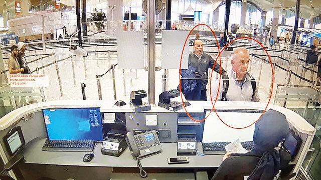 CEO'yu kaçıranlar kamerada