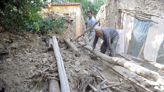 Uygur Özerk Bölgesi'nde 5,6 büyüklüğünde deprem meydana geldi