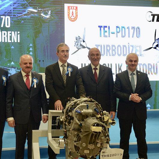 Türkiyenin ilk milli havacılık motorunun teslimatı gerçekleştirildi