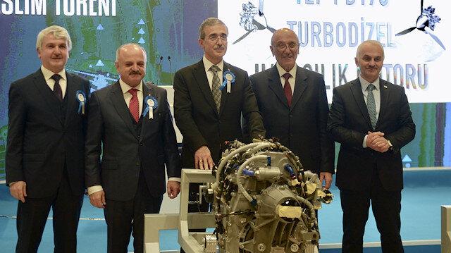 Türkiye'nin ilk milli havacılık motorunun teslimatı gerçekleştirildi
