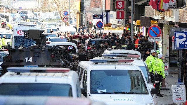 Ankara'da bir kişi otelden çevreye ateş açtı: Paniğe neden olan kişi gözaltına alındı