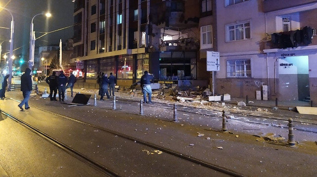 Güngören'de doğalgaz patlaması: 1 yaralı