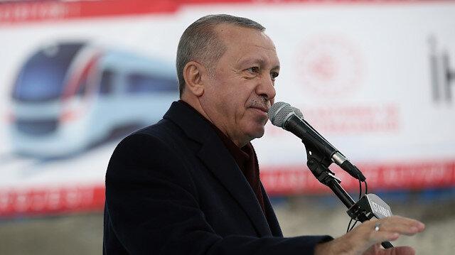 Cumhurbaşkanı Erdoğan: Ulaşım Gayrettepe'den 35 dakikada sağlanacak