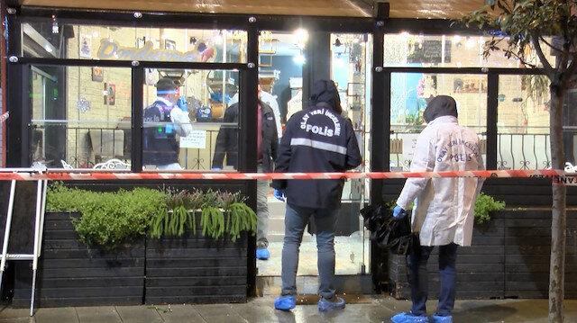 Pala ile restorana giren yabancı uyruklu saldırgan öldürüldü