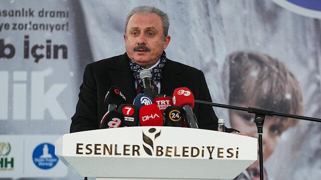 TBMM Başkanı Şentop: Türkiye olarak bu yangını bir an önce durdurmak istiyoruz