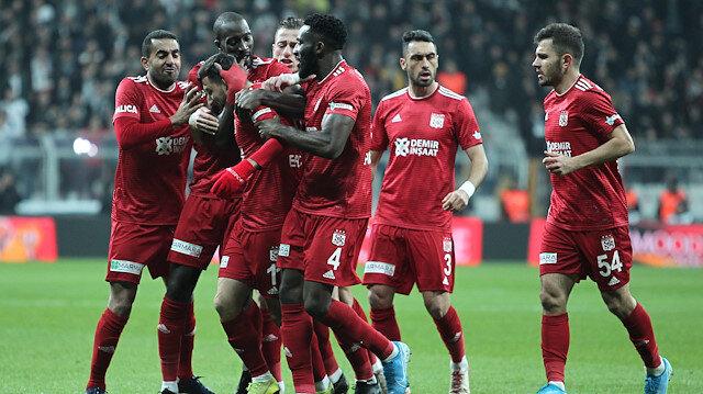 Beşiktaş-Sivasspor: 1-2