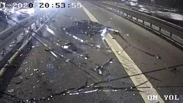 Metrobüs yolundaki feci kazada yeni detay