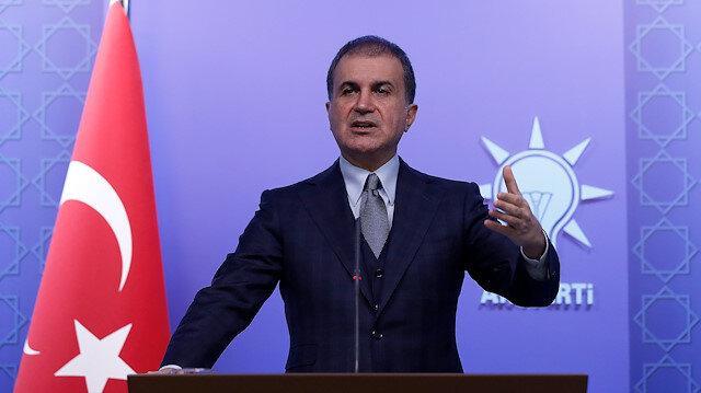 AK Parti Sözcüsü Çelik: CHP yöneticileri Ankara'dan bakmayı öğrenmelidir