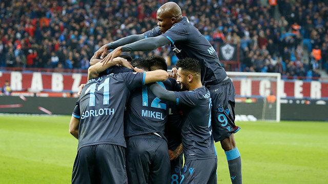 Trabzonspor rakiplerine gol yağdırıyor
