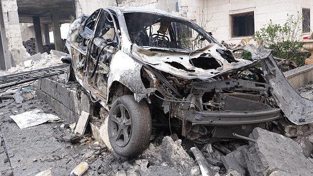 Rus savaş uçaklarının İdlib'de düzenlediği saldırılarda 26 sivil hayatını kaybetti