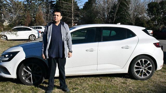 Sıfır aldığı otomobilin tamponu boyalı, ön camı değişmiş çıktı