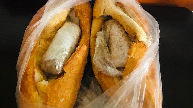 Mersin'de ekmek arasına gizlenmiş 2 bin uyuşturucu hap ele geçirildi