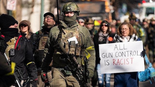 ABD'de silah kontrolü yasasına tepki: Binlerce kişi eylem için sokaklara çıktı