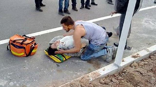Otomobiller kafa kafaya çarpıştı, kazada 6 kişi yaralandı: Hamile eşinin yanından ayrılmadı