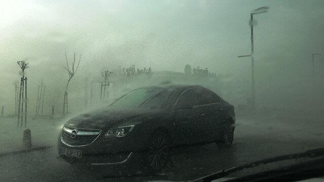 Meteorolojiden Akdeniz'de fırtına uyarısı