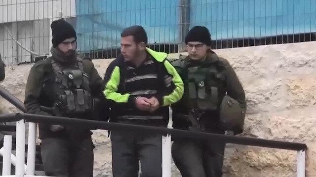 İşgalci İsrail güçleri zihinsel engelli Filistinliyi gözaltına aldı