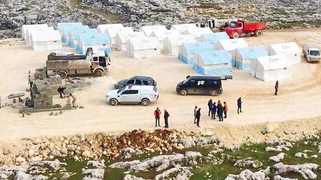 İdlib'e acil konaklama evleri