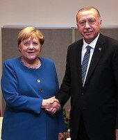 Erdoğan, Merkelile görüşecek
