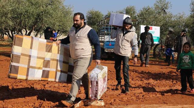 İDDEF'den, İdlib'e 'Yardım Seferberliği'