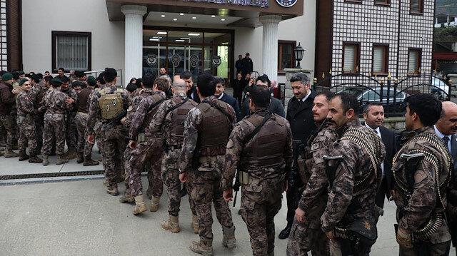Rize'de kahramanlara özel karşılama: 46 PÖH 98 gün sonra döndü