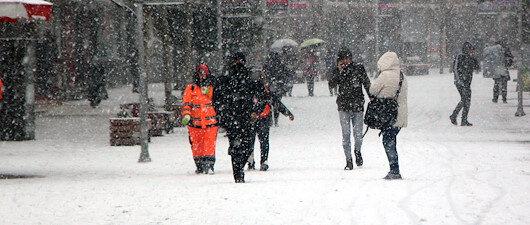 7 il için buzlanma <br>ve don uyarısı