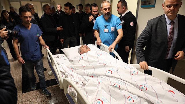 AK Parti Milletvekili İbrahim Aydın ve eşi trafik kazası geçirdi