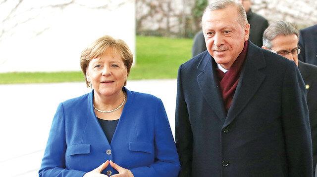 İstanbul'da Türk-Alman zirvesi