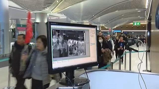 İstanbul Havalimanı'nda virüs alarmı: Çin'den gelen yolcular termal kameralarla kontrol edildi