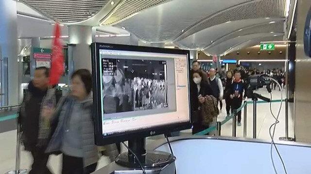 Çin'den gelen yolculara virüs taraması