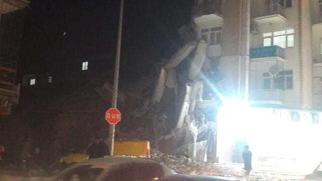 Elazığ'da 5.4 büyüklüğünde ikinci deprem