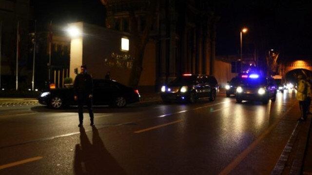 Almanya Başbakanı Angela Merkel Çırağan Sarayı'nda