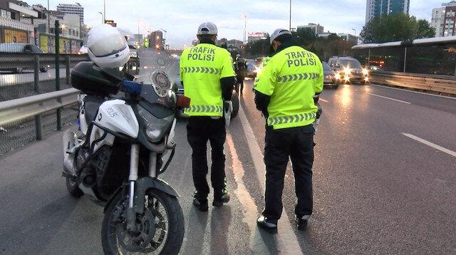 Polis drift yapan sürücüyü affetmedi