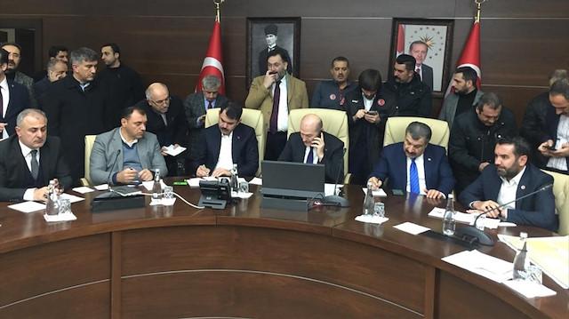 Üç bakan Elazığ'da ortak basın toplantısı düzenledi