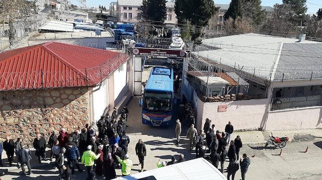 Depremden hasar gören Adıyaman Cezaevi boşaltılıyor