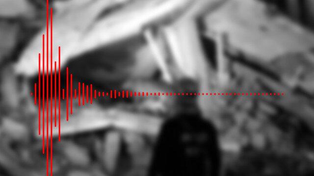 6.8'lik Elazığ depreminin yeraltındaki sesi ortaya çıktı