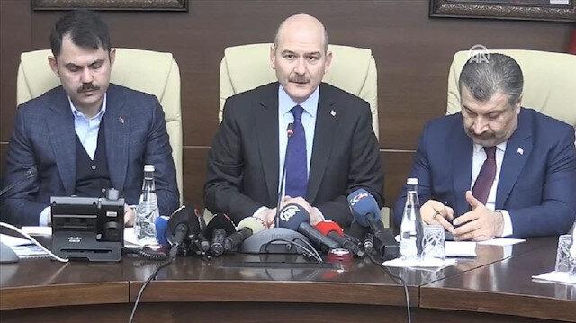 3 Bakan Elazığ'da ortak basın açıklaması yaptı: 22 kişi hayatını kaybetti