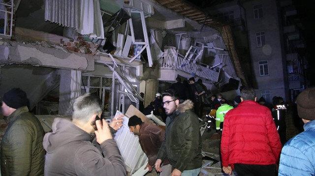 Elazığ depremi çevre ülkelerden de hissedildi: Suriye, Irak, Gürcistan ve Lübnan