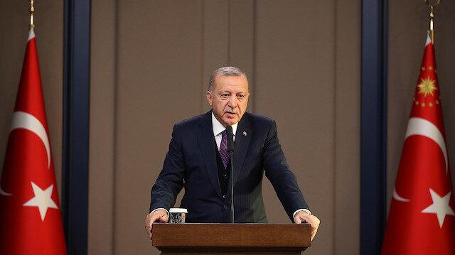 Cumhurbaşkanı Erdoğan'dan deprem açıklaması: Tüm tedbirler alınıyor