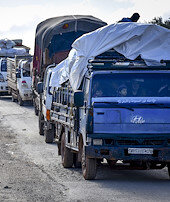 İdlibde göç sürüyor