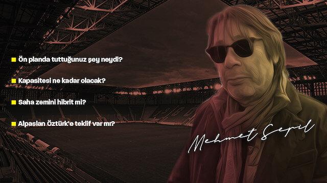 Türkiye'de tek: Stadın çatısında spor yapılabilecek